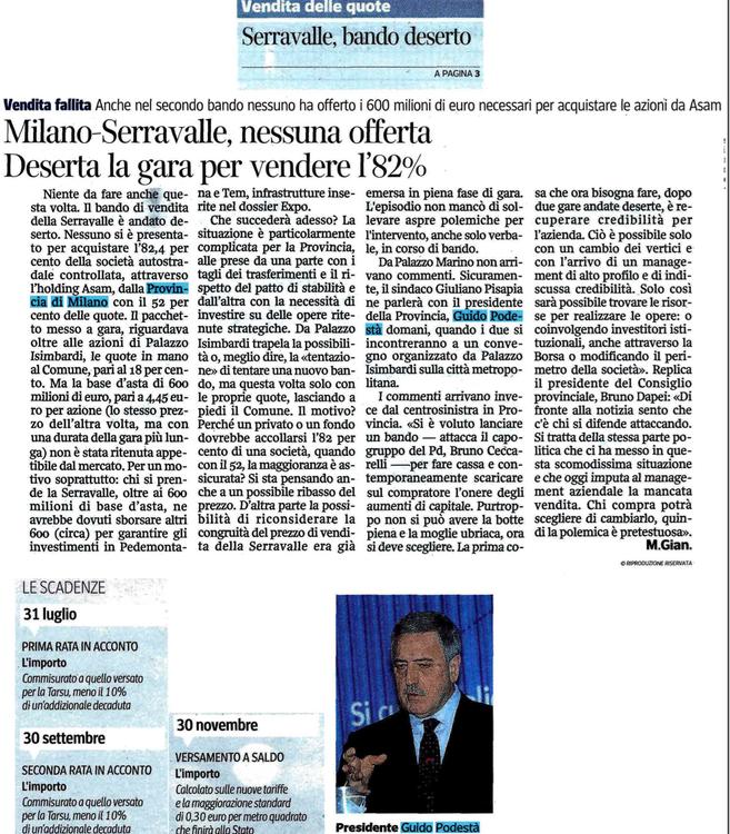 Corriere 11 luglio 2013