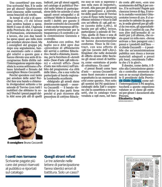 Corriere 31 marzo 2013