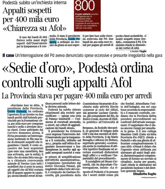 Corriere 5 aprile 2013
