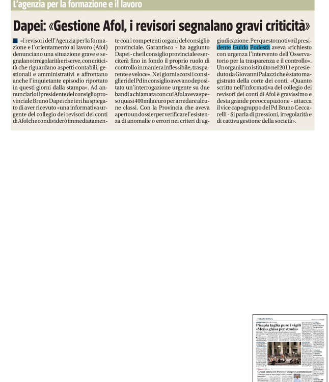 Il Giornale 6 aprile 2013